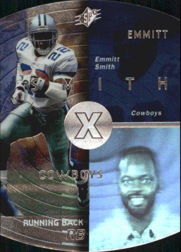 1998 SPx Football Card #12 Emmitt Smith