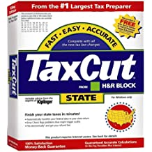 TaxCut from H&R Block 2001 State Filing Edition