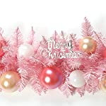 LSX-Wreaths-Christmas-Flower-Vine-Christmas-Supplies-Pink-Cherry-Blossom-Pink-Christmas-Rattan-Cute-Girl-Heart-Decoration-Christmas-Ornaments-2m-Lights-Color-C