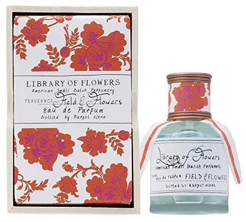 Library Of Flowers Eau De Parfum A Beautiful Artisinal Perfume Crafted Featuring Unique Blends Of Essences From Our Perfumery 1 69 Fl Oz 49 7 Ml Premium Beauty