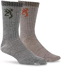 Men's Everyday Wool Socks 2 Pairs