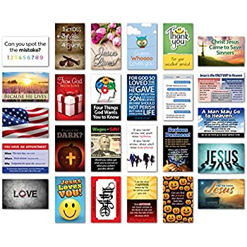 Amazon com : Gospel Tracts Sample Pack (KJV) : Everything Else