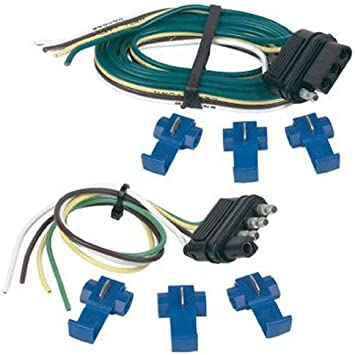 Hopkins 48205 48 Vehicle and 12 Trailer End 4-Wire Flat Set