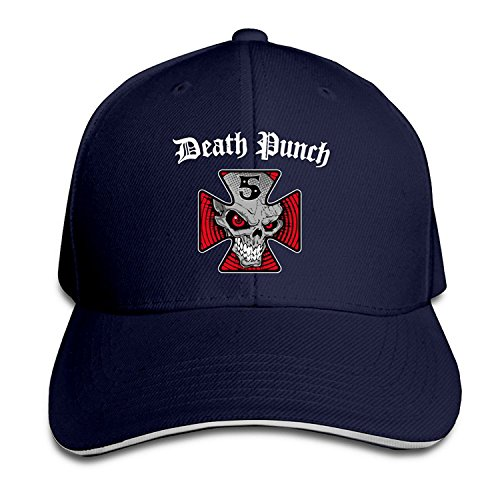 Finger Sandwiches - BestSeller Five Finger Death Punch Logo Adjustable Sandwich Peaked Baseball Caps Hats For Unisex