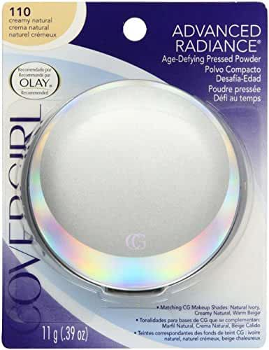 CoverGirl Advanced Radiance Age-Defying Pressed Powder, Creamy Natural 110, 0.39 Ounce Pan by COVERGIRL