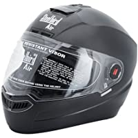 Steelbird SBA-1 Dashing Black with Plain visor,600 mm