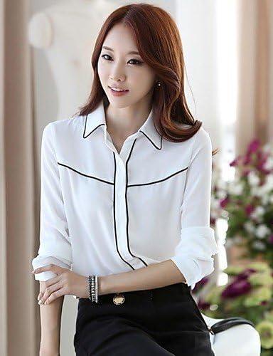 Camisas para mujer y chemisiers camisa (muselina) trabajo ...