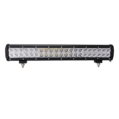 "Northpole Light 20"" 126W Led light Bar Waterproof Cree Spot Flood Combo LED Driving Fog Light bar with Mounting Bracket for Off Road, Truck, Car, ATV, SUV, Jeep: Automotive"