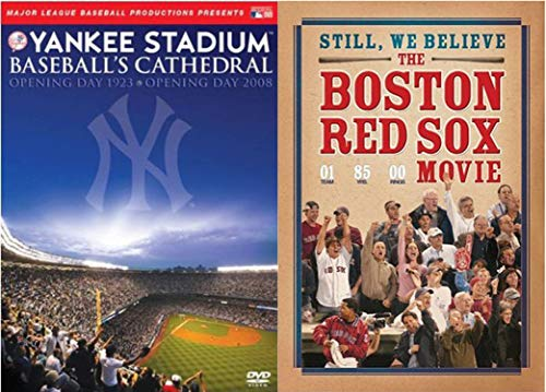 Major League Baseball's Greatest Rivals MLB Presents Yankee Stadium: Baseball's Cathedral Opening Day 1923 - Opening Day 2008 & The Boston Red Sox Movie 2-DVD Sport Bundle