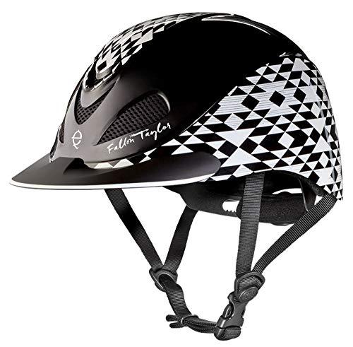 Troxel Fallon Taylor Performance Helmet, Black Aztec, Medium ()