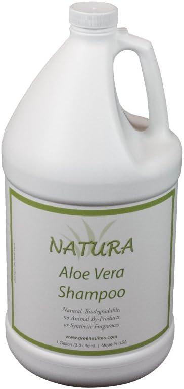 Natura Aloe Vera Shampoo (1 Gallon) by Green Suites: Amazon.es ...