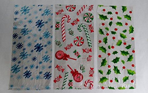 Snowflake Cellophane Bags - 6