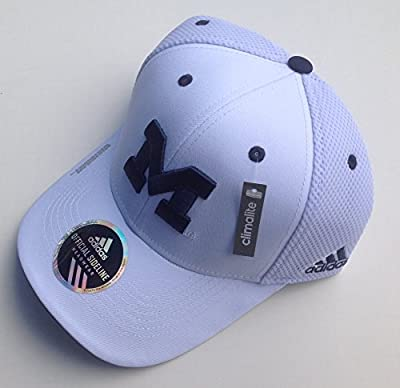 Michigan Wolverines Sideline Climalite Flex Cap Adjustable from Adidas