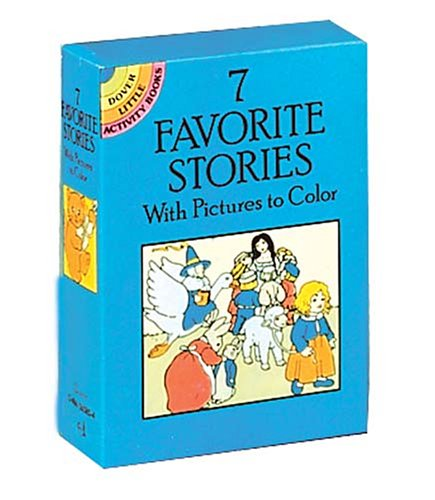 7 Favorite Stories with Pictures to Color