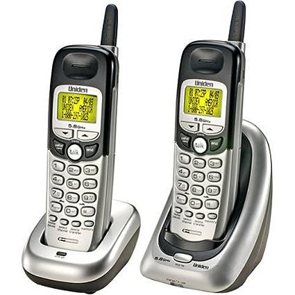 amazon com uniden dxi5586 2 5 8 ghz analog cordless phone with rh amzn to