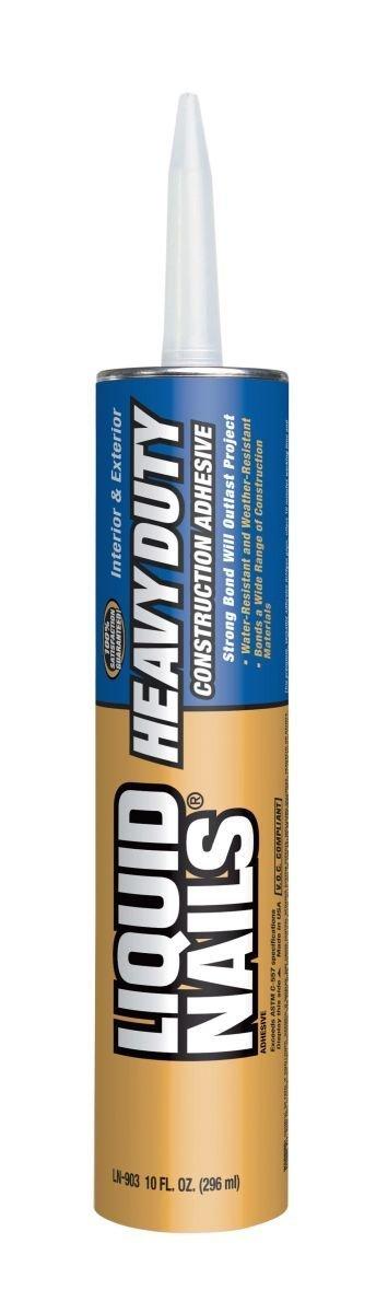 Liquid Nails LN-903 24 Pack Heavy Duty Construction Adhesive, Tan