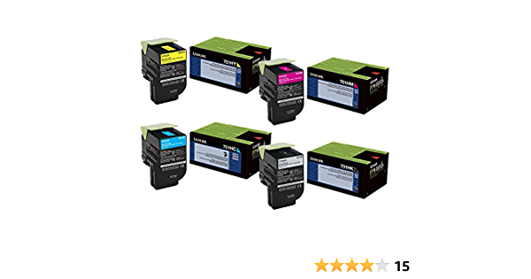 3K Pages. Compatible Toner Refill Replacement for Lexmark CS310 CS410 CS510 Magenta Toner Refill Kit w//Chip US//Canada