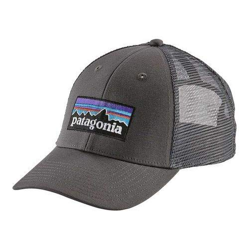 Patagonia P-6 LoPro Trucker Hat (Forge Grey) (Patagonia Fitz Roy Trout Trucker Hat Forge Grey)