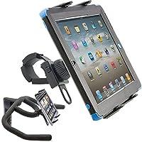 ChargerCity Strap-Lock - Soporte para tableta para bicicleta Caminadora Bicicleta para ejercicios Helm Manillar con soporte universal para tableta Apple iPad Mini Air PRO /Ipad Samsung Galaxy Tab (tabletas de 7 a 12 pulgadas)