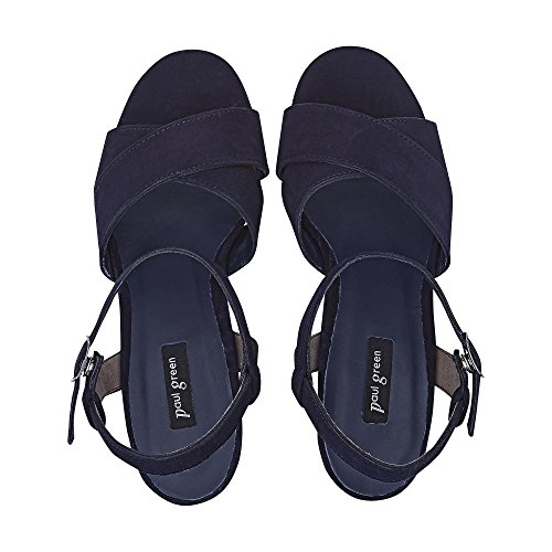 Paul Green Women's Fashion Sandals Blue YNpwU