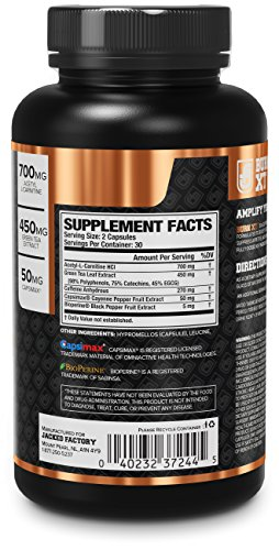 BURN-XT Thermogenic Fat Burner – Weight Loss Supplement ...