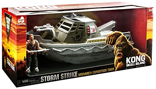 Kong Skull Island Monarch Expedition Team Storm Strike Armored Boat