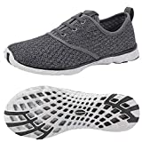 ALEADER Men's Stylish Quick Drying Water Shoes Gray 9.5 D(M) US Larger Image