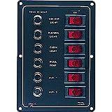 422800-1 Alum Circuit Break Panel 6 Circuit