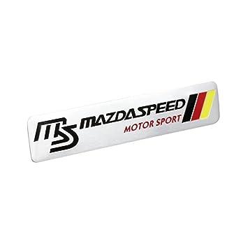 mazdaspeed emblem. side rear german flag racing mazdaspeed decal emblem badge sticker for mazda mazdaspeed