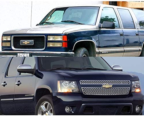 Front Grill Bowtie Emblem fit for 2007-2014 Chevy Suburban Tahoe Avalanche