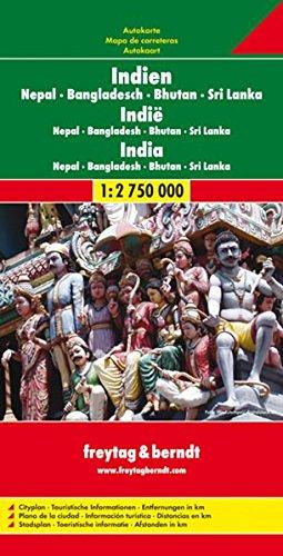 India, Bangladesh, Nepal, Bhutan, and Sri Lanka (Road Map) (English, French, Italian and German...