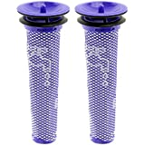 2 Pack Washable Pre Motor Filter for Dyson DC58 DC59 V6 Cordless Vacuum Cleaners ,2 Filters Replacements Part # 965661-01 by Seelong
