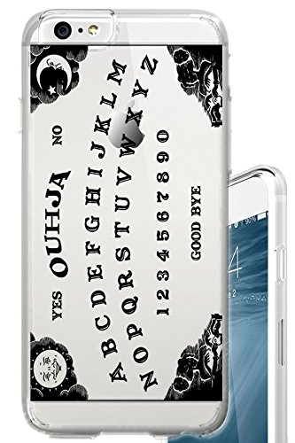 iPhone 6S Case Ouija Board Occult Eye Clear Translucent Transparent Unique Design Pattern Cover For iPhone 6S also fits iPhone (Halloween Occult)