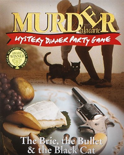 Paul Lamond Murder Mystery Party Game The Brie The Bullet And The Black Cat