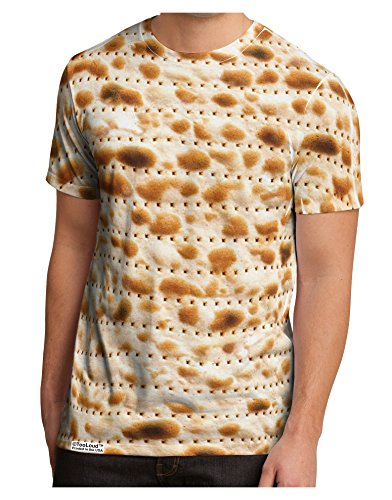 TooLoud Matzo Men's Sub Tee Dual Sided XL All Over Print -