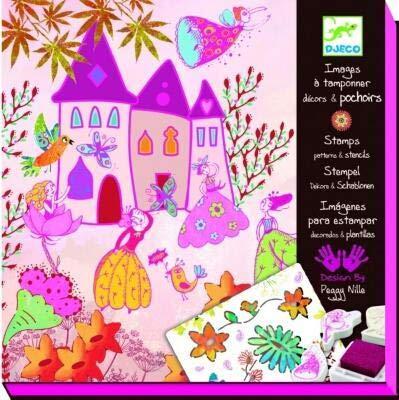 DJECO DJ08791 Create Stories- Princesses Cards