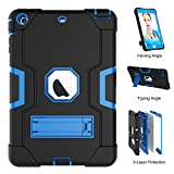 iPad Mini Case,iPad Mini 2 Case,iPad Mini 3 Case, UZER Heavy Duty Shockproof