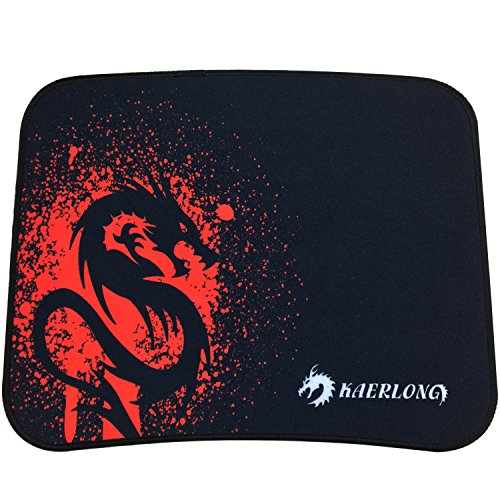 Red Dragon Gaming Mouse Pad With Low Friction Tracking