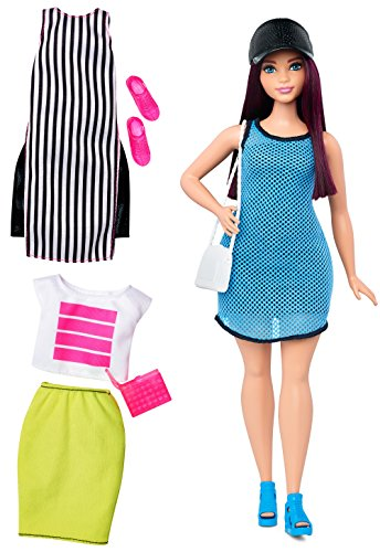 Barbie Fashionistas Doll & Fashions So Sporty, Curvy Dark-Haired
