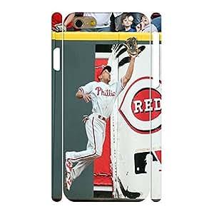 Charm Baseball Star Player Handmade Hard Plastic Skin for Iphone 6 Case - 4.7 Inch