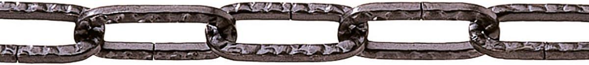 89537 vierkant br/üniert pewag Zierkette geh/ämmert 3 x 29 mm