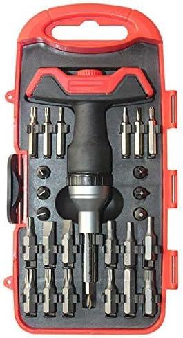 WY-WY 多機能ツールドライバーセット六角ビットTレンチハンドツール25Pcs