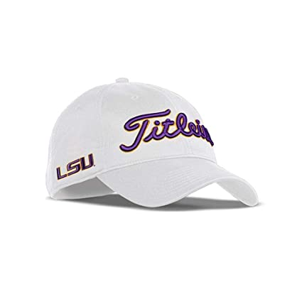 Amazon.com   Titleist Collegiate Tour Performance Adjustable Hat Cap ... 4cb92b483b4