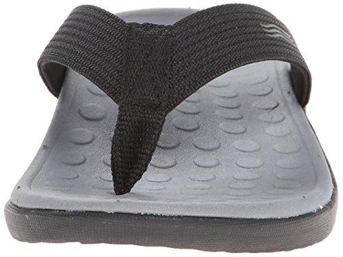 Orthatic Sandale EU Vionic Wave Paire Noir avec Unisexe 44 Orthaheel Noir Technologie PO7x4YnOq