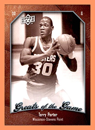 - 2009-10 Greats of the Game #26 Terry Porter WISCONSIN-STEVENS POINT