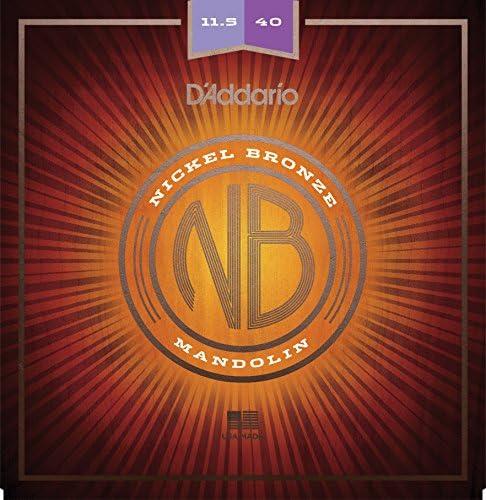 D Addario nbm11540 11,5 – 40 luz níquel bronce mandolina ...