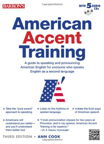 American Accent Training with 5 Audio CDs, 3/e (Paperback)-cover