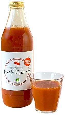 トマトジュース6本 北海道産 農薬不使用栽培トマト100% イー・有機生活