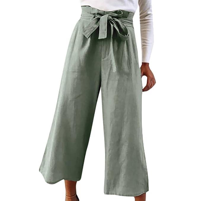 aecfe88ee2 Pantalones Anchos para Mujer Otoño Invierno 2018 Moda PAOLIAN Casual  Pantalones Marlene Vestir Cintura Alta Fiesta Pantalon Uniformes de Trabajo  Acampanados ...