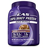 EAS 100% Pure Whey Protein Powder, Chocolate, 5 LB, 26  Grams of Whey Protein Per Serving (Packaging May Vary)